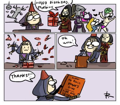 Legacy of Kain, doodles 64 by Ayej