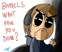 PewDiePie - Barrels What Have you done by IceBreak23