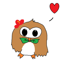 Rowlet by Weaselhatter