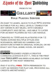 Gallant Role-Playing System by Rafellin