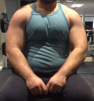 Chest day by top-heavy
