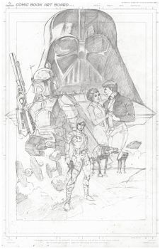 Empire Strikes Back Commission by markpwhitaker