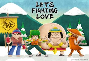 Let's Fighting Love by barlmobile