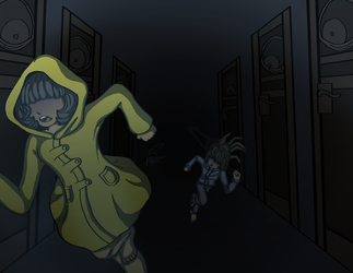 Run Children Run (Little Nightmares [Six and RK]) by CharoTheDawnClover