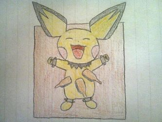 Pichu torture table (colored) by foxemon