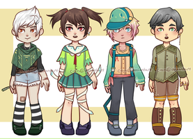 Chibi Adoptables 5 [open]-[points/USD] by C-ren