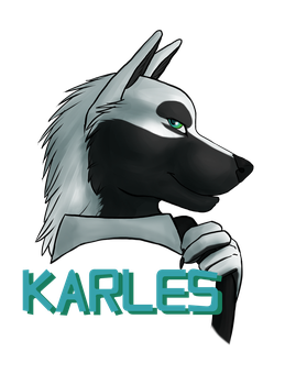 Karles Badge by Silenthowl7