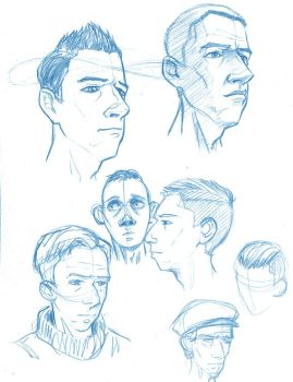 More character sketches by kaztorama
