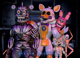 [C4d] Weirdos | Custom Night by The-Smileyy