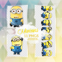Pack Png 338 - Minions by worldofpngs