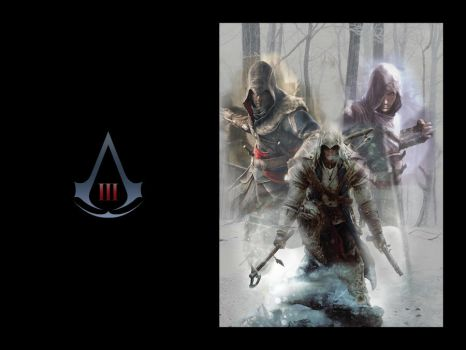 Assassin's Creed III wp2 by DesiderataLibertalia