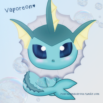 Vaporeon by NiallsWife
