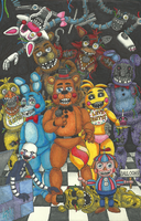 Five Nights at Freddy's 2 by KysonKyoko