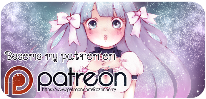 Support me on Patreon! by Rozenberry