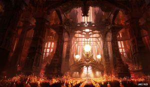 Dragon Light Cathedral by JamesPaick