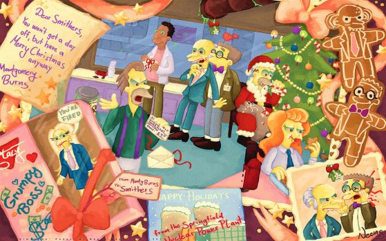 Christmas at the Power Plant by MissNeens