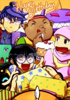 Boboiboy: Happy Birthday! by widzilla