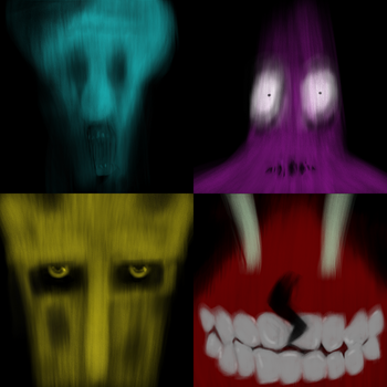 The scream, the fear, the judgment, the greed by TwinMiaou