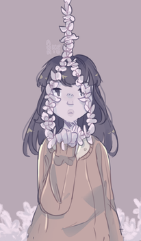 Necklace Of Flowers by nonkiru
