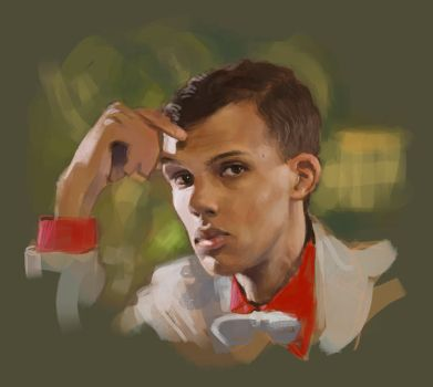 Stromae Portrait by bopx
