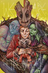 GOTG: WE ARE GROOT by Jubop