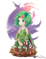 Final Fantasy IV : Rydia by Milee-Design