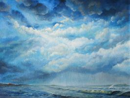 Stormy Seas - Wallpaper by mynti