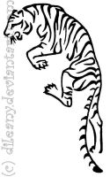 Tiger tattoo request by Dileany