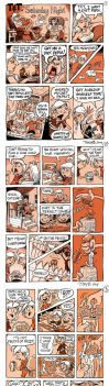 My Sis's 50th B-day comic book gift by tombancroft