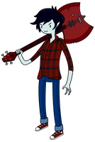 Marshall Lee - Adventure Time by Qhyperdunk24