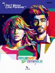 Zayn Malik  Taylor Swift (WPAP) by opparudy
