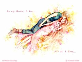 Cloud x Aerith in Love by Oromasis