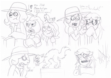 .:[DOODLES] SOME MORE CAMP WWE SHIT:. by Maniactheleader