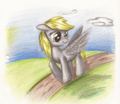 Derpy by DrawingHeart19