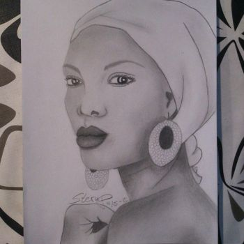 African woman final by Mettemusss1810