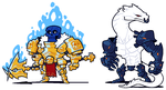 COMMISSION: DnD Group FINAL by Cubesona