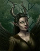 Maleficent Fairy by BritneyPringle