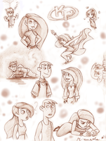 KP sketches by m-angela