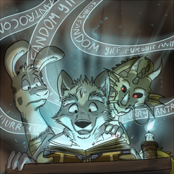 Grimoire of Fur by lobowupp