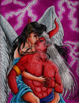 Angels and Demons by SessInSunglasses
