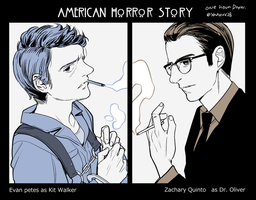 AHS_kit_and_Dr.Oliver by yahuxx28