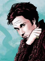 Rufus Wainwright by claytoncowles