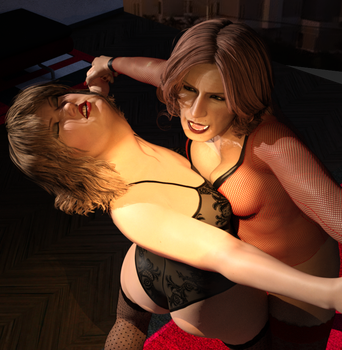003 Breast Battle by Knockoutmichelle