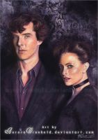 Sherlock and Irene by RoryonaRainbow