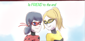 Miraculous Ladybug comic: Friends till the end pt3 by Kyoei-San