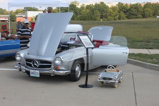 Mercedes Benz 190 SL by iannathedriveress