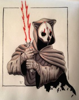 Darth Nihilus by ElieBongrand