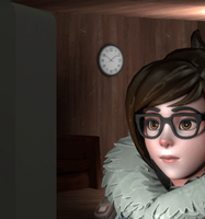 Overwatch - Mei Reaction Gif by InfiniteTatami