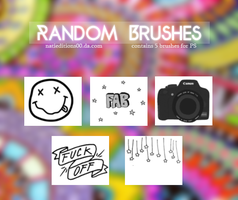 + Random Brushes by natieditions00
