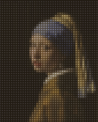 Girl with a Pearl Earring by IamaGenious